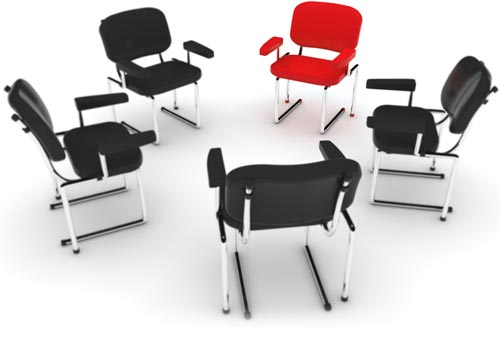 Focus Group Professional Chair Layout